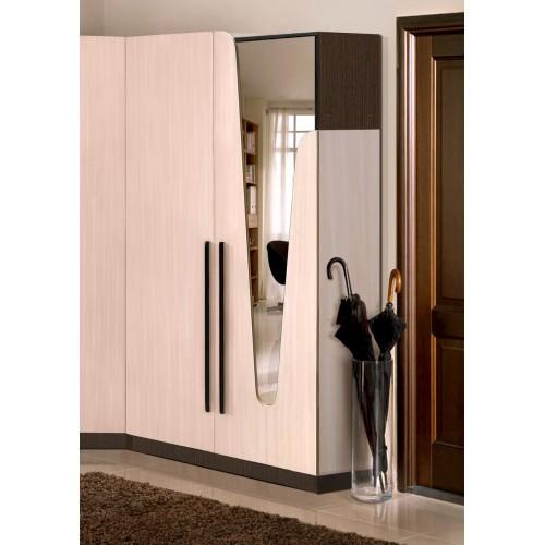 Шкаф 550 с зеркалом Арья