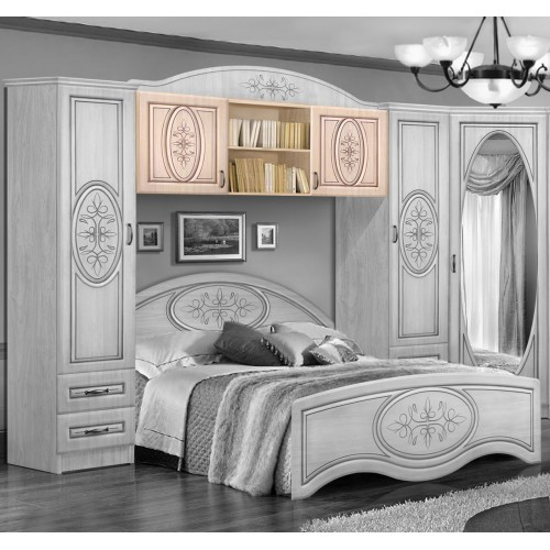Антресоль над кроватью 1400,1600 Василиса
