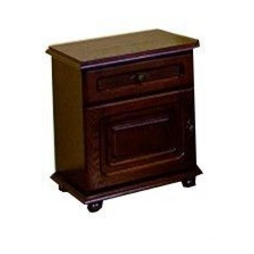 Тумба прикроватная Яна с ящиком и дверкой 03-38291