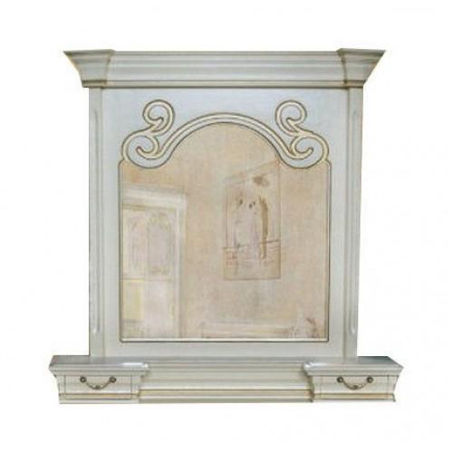Зеркало Камелия с надставкой 03-38106