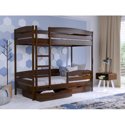 Деревяная кровать Дуэт Плюс