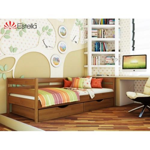 Деревяная кровать Нота