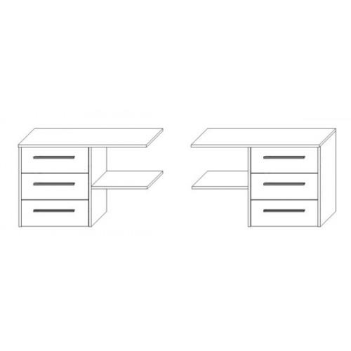Блок ящиков к шкафу 1800(дополнительно)